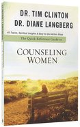Quick-Reference Guide to Counseling Women Paperback