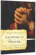 Answers to Prayer (Moody Classic Series) Paperback