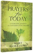 Prayers For Today Paperback