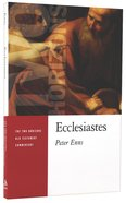 Ecclesiastes (Two Horizons New Testament Commentary Series)