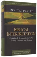 Invitation to Biblical Interpretation Hardback