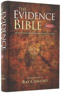 NKJV the New Evidence Study Bible (Red Letter Edition) Hardback