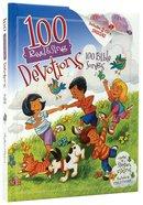 100 Devotions, 100 Bible Songs Hardback