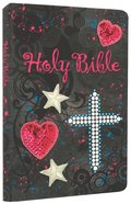 NKJV Sequin Bible Black (Red Letter Edition)