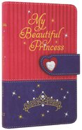 NLT My Beautiful Princess Bible Pink Purple Royalty (Black Letter Edition) Imitation Leather