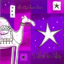 Christmas Packet of 5 Cards: Its Christmas Time Follow the Star