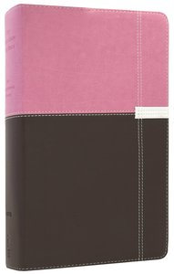 NIV Life Application Study Bible Personal Orchid/Chocolate (Red Letter Edition)