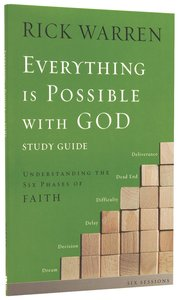 Everything is Possible With God (Study Guide)