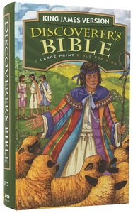 KJV Discoverers Bible Revised Edition (Red Letter Edition)