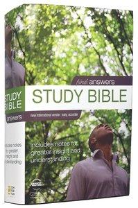 NIV Find Answers Personal Study Bible (1984)
