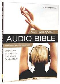 NIV Hear God Speak Audio Bible Selections of Scripture That Share Gods Story (2 Cds)