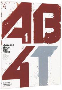 Answers Book 4 Teens (Volume 1)