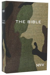NIV Compact Bible Green Camouflage (Black Letter Edition)
