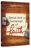 Speak God's Language of Faith (3 Dvds) DVD
