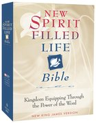 NKJV New Spirit Filled Life Black Genuine Leather