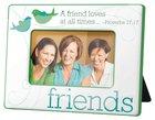 Photo Frame: Friends, Birds, Green