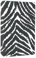 NIV Safari Collection Bible Zebra (Red Letter Edition)