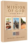 HCSB the Mission of God Study Bible Hardback