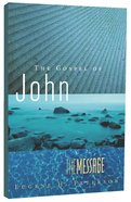Message Gospel of John (Black Letter Edition) Paperback