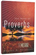 Message Book of Proverbs (Black Letter Edition) Paperback