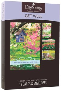 Boxed Cards Get Well: Springtime