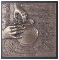 Moments of Faith Sculpture Plaque: The Potter, Isaiah 64:8