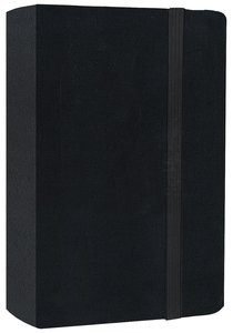 NIV Skinii Compact Bible Black (Red Letter Edition)