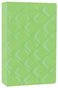 NIV Compact Thinline Bible Quilted Kiwi Duo-Tone (Red Letter Edition)