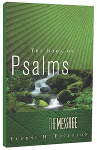 Message Book of Psalms (Black Letter Edition)