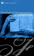 Theological Interpretation of Scripture eBook