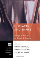 Luke-Acts and Empire eBook