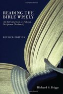 Reading the Bible Wisely eBook