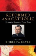 Reformed and Catholic eBook