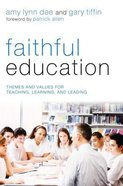 Faithful Education eBook
