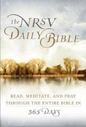 The NRSV Daily Contemplative Bible