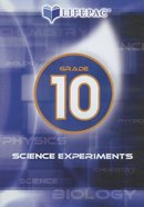 Grade 10 (Lifepac Science Experiments DVD Series) DVD