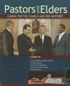 Pastor's and Elders