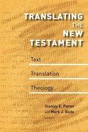 Translating the New Testament Paperback