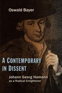 A Contemporary in Dissent Paperback