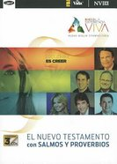 Experiencia Viva Nuevo Testamento Con Salmos Y Proverbios (Living Experince New Testament With Psalms and Proverbs) (Mp3) CD