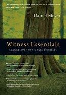 Witness Essentials Paperback
