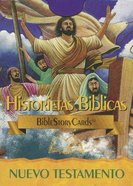 Bible Story Cards New Testament Spanish (50 Cards)