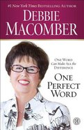 One Perfect Word Paperback