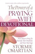 The Power of the Praying Wife Devotional (Large Print) Paperback