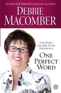 One Perfect Word (Large Print) Paperback