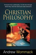 Christian Philosophy Paperback