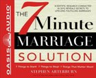 7 Minute Marriage Solution CD