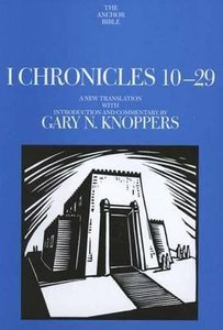I Chronicles 1-9 (Anchor Yale Bible Commentaries Series)