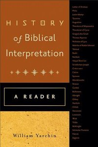 History of Biblical Interpretation