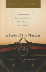 A Taste of the Classics (Volume 4) (#04 in Taste Of The Classics Series)